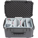 SKB 3I-2213-12DT iSERIES UTILITY CASE Waterproof, internal dim.559x330x299mm, Think Tank dividers