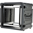 SKB 3SKB-R10U20W ROTO SHOCK RACK CASE 10U, 20-inch depth, water resistant, pull handle and wheels