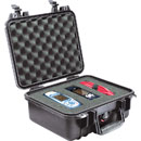 PELI 1400EU PROTECTOR CASE With foam, internal dimensions 301x228x131mm, black