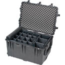 PELI 1660 PROTECTOR CASE With padded dividers, internal dimensions 716x502x448mm, black