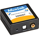 MUXLAB 500087 DIGITAL AUDIO CONVERTER S/PDif RCA, Toslink in, S/PDif RCA and Toslink digital out
