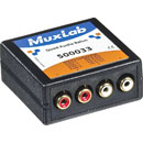 MUXLAB 500033 QUAD AUDIO BALUN 4x male RCA, RJ45