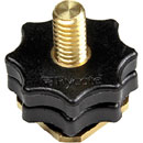 RYCOTE 037327 HOT SHOE ADAPTER To 1/4 inch male thread, for Rycote Hot Shoe Extension