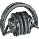 AUDIO TECHNICA ATH-M40X HEADPHONES Closed, 35 ohms, 3.5mm jack, 6.35mm adapter, straight + coiled