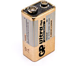 GP 1604AU BATTERY, 1604 (PP3) size, alkaline, Ultra series