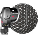 RODE STEREO VIDEOMIC X MICROPHONE Condenser, paired cardioid, X/Y, on-camera, Rycote lyre