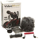RODE VIDEOMICRO MICROPHONE Condenser, cardioid, on-camera, Rycote lyre