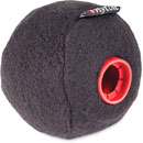 RYCOTE 039701 BASEBALL 19/20 MICROPHONE WINDSHIELD 19-20mm hole, 75mm diameter, black