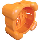DNH ABSORBER SHOCK ABSORBER For AQUA-30 loudspeaker, orange