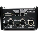SONIFEX AVN-CU2 COMMENTARY UNIT 2x microphone, 2x headphone monitoring, DANTE enabled