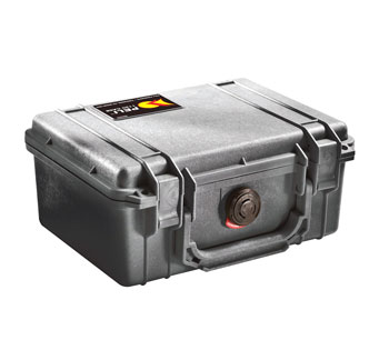 PELI 1120 PROTECTOR CASE With foam, internal dimensions 185x121x85mm, black