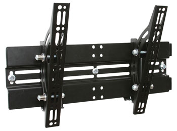 B-TECH BT8431 FLAT SCREEN MOUNT Wall, universal, tilt, medium/large, black