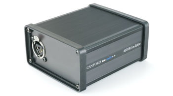 CANFORD AES/EBU DIGITAL AUDIO SPLITTER Balanced, 110 ohms, XLR in/out, 3 way