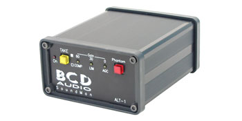 BCD ALT-1 PRE-AMPLIFIER Mic, line, auto, single input, compressor, limiter