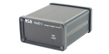 BCD ATOD-1 ANALOGUE TO DIGITAL CONVERTER Stereo, line level in, requires DC power
