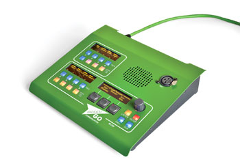GREEN-GO MCD8 DIGITAL DESK STATION 8-channel, ethercon RJ45 connection