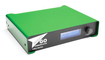 GREEN-GO GGO-2W DIGITAL INTERFACE 4-wire to 2-wire (analogue partyline), 2-channel