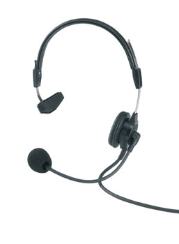 RTS PH-88R Single muff headset, XLR 4-pin male