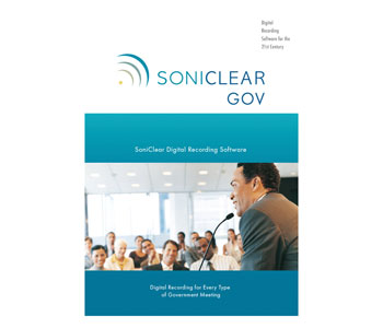 SONICLEAR GR9FL1 Government 9 Recording System