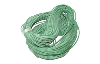 GREEN SILICONE SLEEVING 1mm bore (coil of 50 metres)
