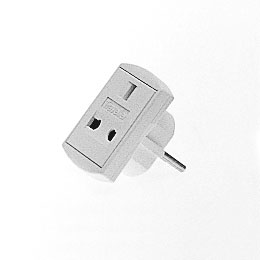 UK/EURO MAINS PLUG ADAPTER