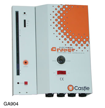CASTLE GA904 ELECTRONIC ORANGE