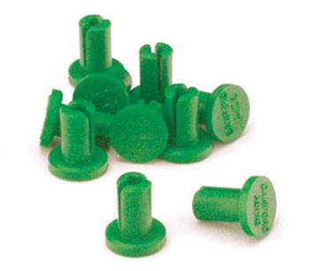 JACKFIELD STOPPERS Green (pack of 10)