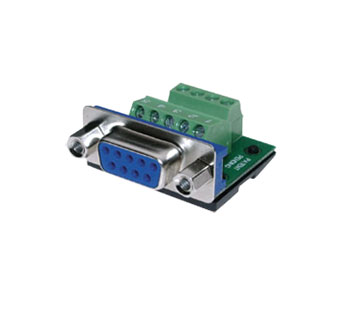 BTX CD-MX9F D-SUB 9 pin female, cable or panel mount, screw terminal