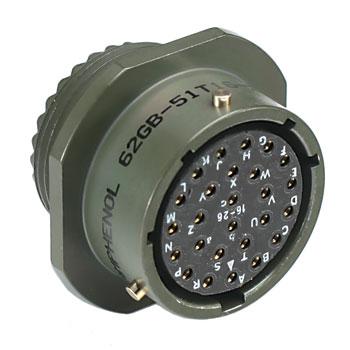 Amphenol Mil26 Bayonet Lock Multipin Audio Ob Connectors