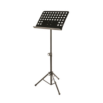 QUIK LOK QL-MS330-W/BAG SHEET MUSIC STAND Tripod base, 75-129cm height, 47.5x34.5cm holder, w/bag