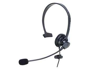 VoIP HEADSET Monaural, single ear, USB
