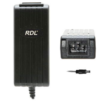 RDL PS-24V3 POWER SUPPLY Universal, 24Volt, 3A