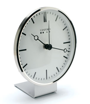 CANFORD RADIO-CONTROLLED DESK CLOCK MSF