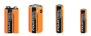 PROCELL MN1604 BATTERY, PP3 size, alkaline, 9V (pack of 10)