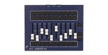ELC LIGHTING SDK2 SIDEKICK TOO DMX CONTROLLER 10x faders, 30x 512 DMX channel memory, desktop