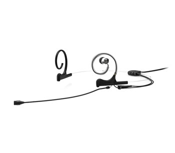 DPA D:FINE 4266 MICROPHONE Headset, single in-ear, omnidirectional, MicroDot, 110mm boom, black