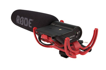 RODE VIDEOMIC MICROPHONE Condenser, on-camera
