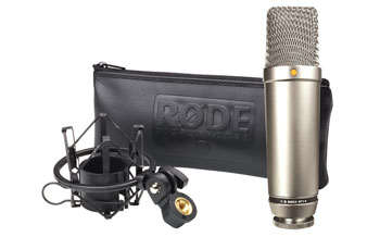 RODE NT1-A MICROPHONE Condenser, with suspension, popshield, cable 6m