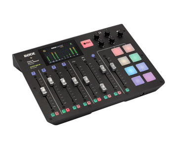 RODE RODECASTER PRO PODCAST STUDIO USB audio interface, microSD recording, mix-minus audio