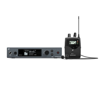 SENNHEISER EW IEM G4 IN EAR MONITOR SYSTEM Including IE4 earbuds, 606-648MHz, Ch 38