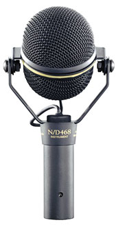 ELECTROVOICE N/D468 MICROPHONE, Dynamic, supercardioid, live instrument