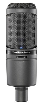 AUDIO TECHNICA AT2020USBi MICROPHONE Cardioid condenser, MicroHDMI output USB/Lightning, BUS powered