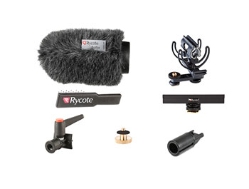 RYCOTE 116010 12CM CLASSIC-SOFTIE CAMERA KIT For 19-22mm diameter mics, 145mm