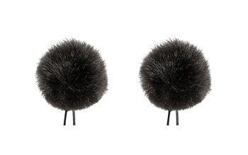 BUBBLEBEE THE TWIN WINDBUBBLES WINDSHIELD Furry, lav, size 1, 28mm opening, twin pack, black