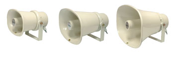 ADS PANTHER 10 LOUDSPEAKER Horn, rectangular, 1-10W taps, cream, sold singly