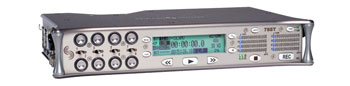 SOUND DEVICES 788T PORTABLE RECORDER For compact flash, 8x channel, with hard drive, time code