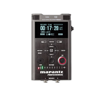 MARANTZ PMD561 PORTABLE RECORDER For SD card, MP3/WAV, 2x inbuilt microphones