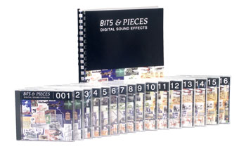 BITS & PIECES SOUND EFFECTS Set of discs 1-16