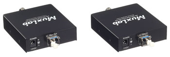 MUXLAB 500710 VIDEO EXTENDER KIT 3G-SDI over SM fibre, 10km reach