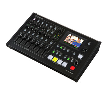 ROLAND VR-4HD AV MIXER 6-input, 18-channel digital audio, 4-channel video, HDMI/RGB/Composite, 1080p